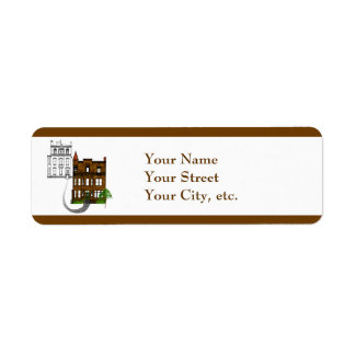 Our Victorian House to Yours Label