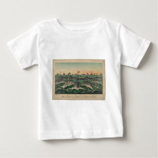Our Victorious Fleets in Cuban Waters Currier Ives Baby T-Shirt