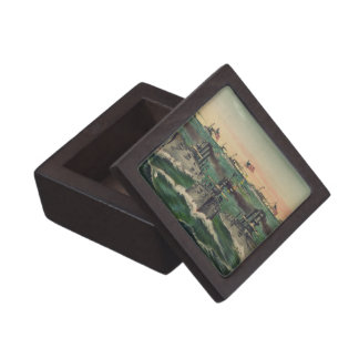 Our Victorious Fleets in Cuban Waters Currier Ives Premium Keepsake Boxes