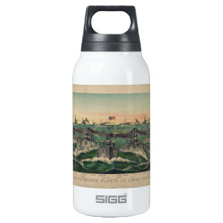 Our Victorious Fleets in Cuban Waters Ives Insulated Water Bottle