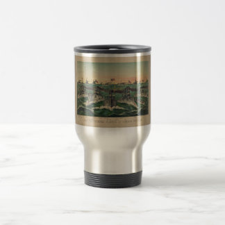Our Victorious Fleets in Cuban Waters Ives Travel Mug