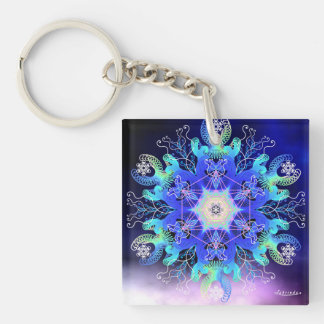 Our Water/Vortex of Vitality Keychain