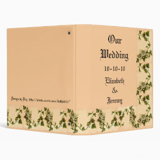 Our Wedding 2 3 Ring Binder