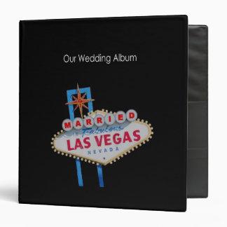 Our Wedding Album Married in Las Vegas Binder