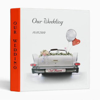 Our Wedding 3 Ring Binders