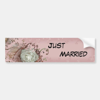 Our Wedding Bumper Sticker