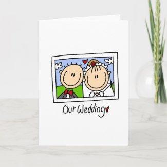 Our Wedding Card card