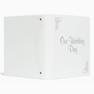 , Our Wedding, Day Binders