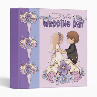 Our Wedding Day Binder