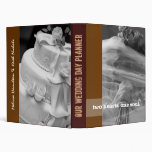 Our Wedding Day Planner 3 Ring Binders