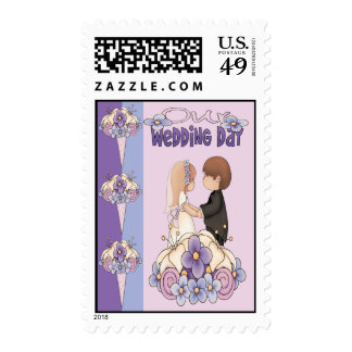 Our Wedding Day Stamp