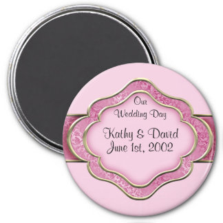 Our Wedding Day (Rose) Magnet