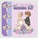 Our Wedding Day Stickers