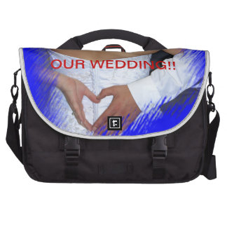 OUR WEDDING DAY!! Travel BAG!!! Laptop Bags