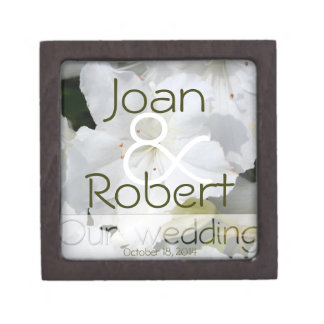 Our Wedding Floral White Azalea Gift Box 3