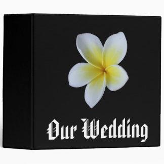 Our Wedding Frangipani Photo Binder