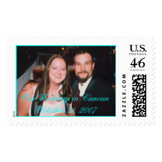 Our Wedding in Cancun October 25 2007 Stamps