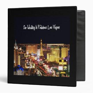 Our Wedding In Fabulous Las Vegas Album Binder