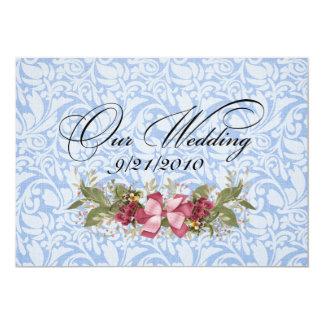 Our Wedding Custom Invite