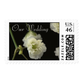 Our Wedding Invite Postage Stamps
