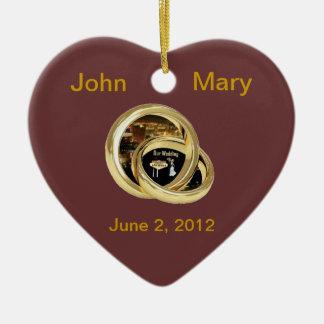 Our Wedding Las Vegas Ornament