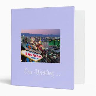 Our Wedding ... Las Vegas Photo Album 3 Ring Binder