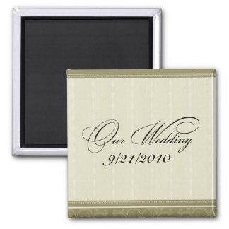Our Wedding Refrigerator Magnet