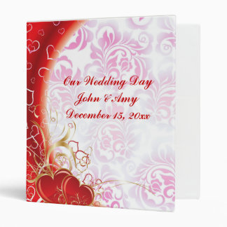 Our Wedding Memories 3 Ring Binder