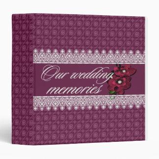 Our wedding memories binder