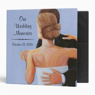Our Wedding Memories Customizable Album 3 Ring Binders