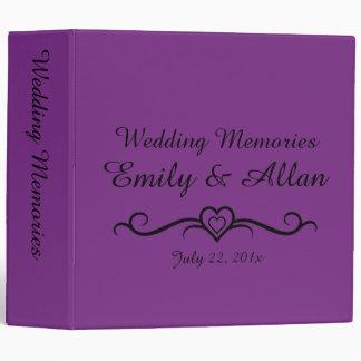 Our Wedding Memories Photo Album Binder