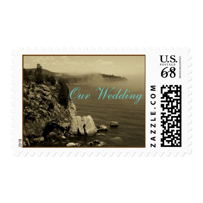 Our Wedding - North Shore, MN Postage