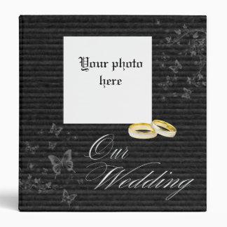 Our wedding photo album binder