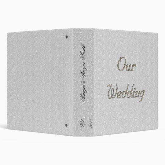 OUR WEDDING PHOTO ALBUM TEMPLATE BINDER