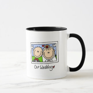 Our Wedding Photograph Tshirts and Gifts Mug