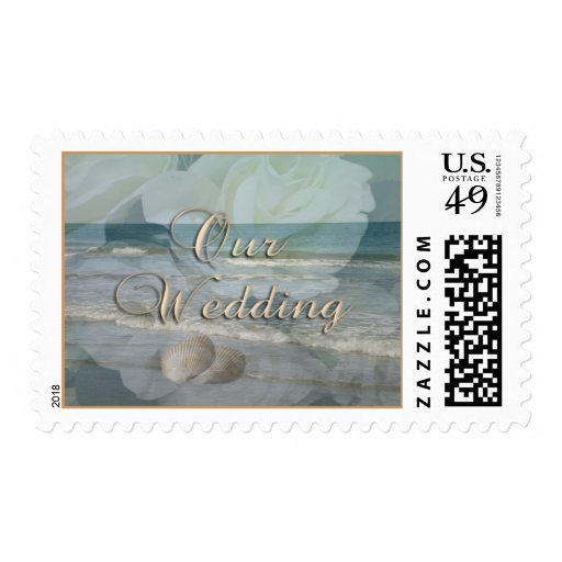 """Our Wedding"" Postage"