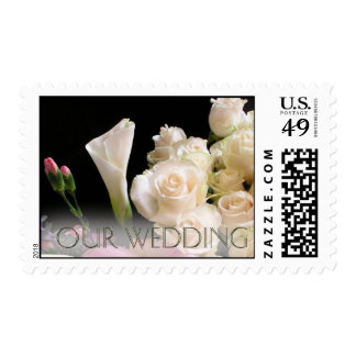 Our Wedding - Postage by Leslie Ha... - Customized