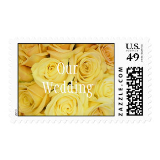 Our Wedding Postage Stamp Template