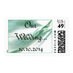 Our Wedding RSVP Event And Wedding Postage Stamp
