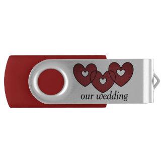 our wedding USB Swivel Stick by DAL USB Flash Drive