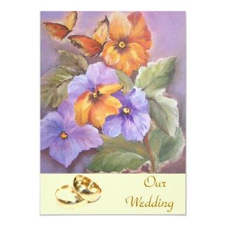 our wedding - wedding invitation