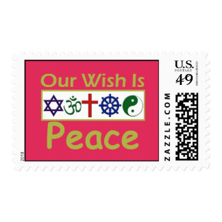 Our Wish PEACE Postage