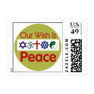 Our Wish PEACE Stamp