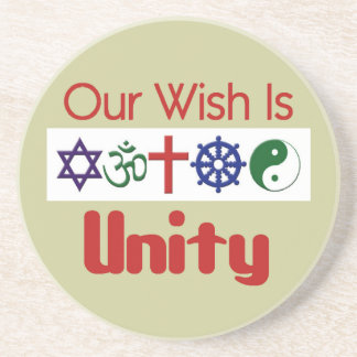 Our Wish UNITY Coaster