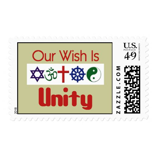 Our Wish UNITY Postage