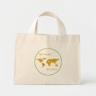 Our World Mini Tote Bag