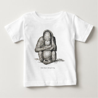 Ourang Outang, Victorian Antique Picture Baby T-Shirt