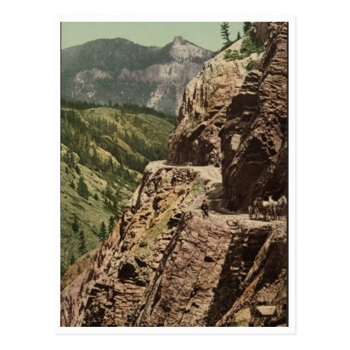 Ouray and Silverton Toll Road Postcard
