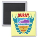 Ouray, Colorado 2 Inch Square Magnet