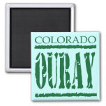 OURAY COLORADO 2 INCH SQUARE MAGNET